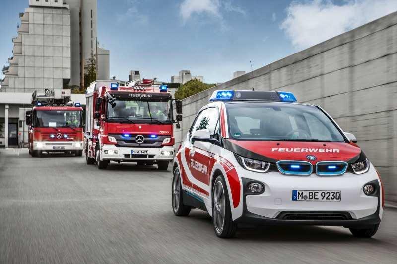 El BMW i3 se incorpora a los servicios de emergencias