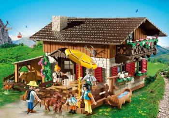 casa granja montaña austria playmobil country