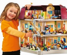 casa de muñecas playmobil amueblada