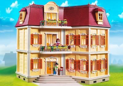 fachada casa playmobil