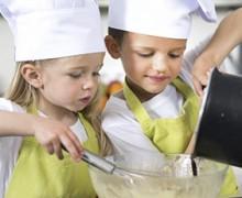 Cursos de cocina para los más pequeños