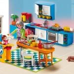 cocina gran casa muñecas