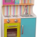 cocina juguete madera colores niños
