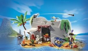 cueva pirata escondite playmobil