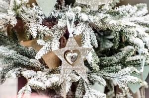 """Árbol de Navidad """"congelada""""."""