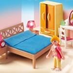 dormitorio principal habitación gran casa de muñecas playmobil