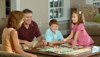 familia juego de mesa