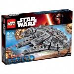 millenary falcon juguetes niños construccion