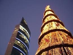 Árbol Navidad en México DF