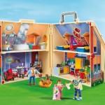 casa moderna amueblada playmobil