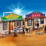 sheriff banco ciudad oeste playmobil