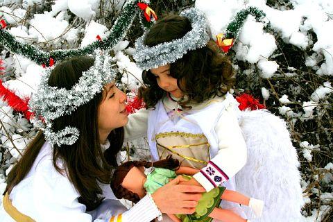disfraces navidad angelito infantil