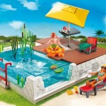 piscina solarium complemento mansion moderna lujo