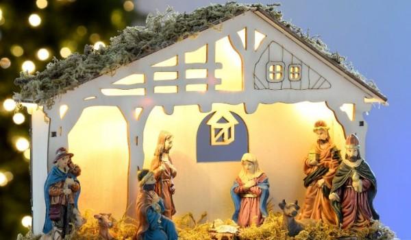 Consigue tu portal de beln con luces para esta Navidad