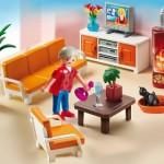 salón gran casa de muñecas playmobil