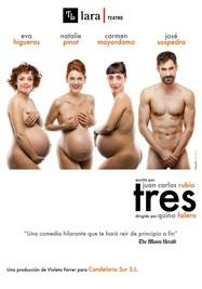 """""""Tres"""", teatro sobre las madres después de los cuarenta"""