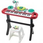 piano microfono instrumento musical niños juguetes