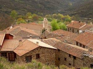 Casas rurales, tejados
