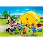 camping familiar playmobil