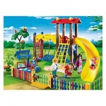 parque niños columpios tobogan playmobil