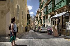 La Valeta: la capital peninsular del patrimonio en Malta.