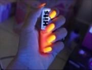 Esmalte fluorescente