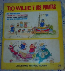 dónde comprar libros con dibujos para niños en español de Richard Scarry