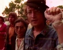 John Lennon junto a Yoko Ono. jpg