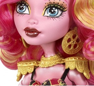 Rostro muñeca Monster High Gooliope