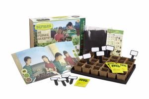 """""""Mi primer huerto de hortícolas"""" contiene todo lo necesario para que no sólo los niños, sino toda la familia, aprendan y disfruten creando su propio huerto en casa"""