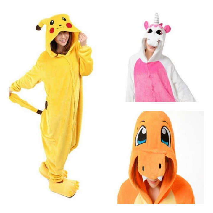 Pijamas Kigurumi: Disfraces cosplay para Carnavales, fiestas infantiles o Halloween