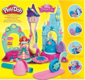 Plastilina Play Doh sets