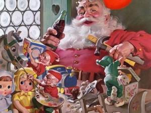 Papá Noel de Coca Cola