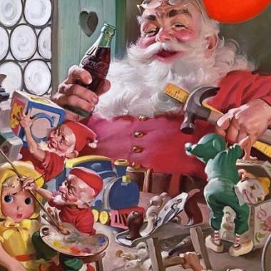 Papá Noel Coca Cola