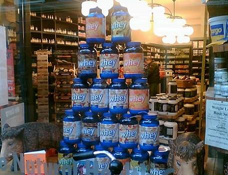 Suplementos de proteína whey