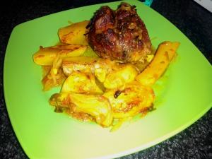 ¿Qué cocinar hoy? Quijadas de cerdo al horno con patatas