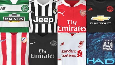 Las camisetas de los grandes clubs, un buen regalo navideño.