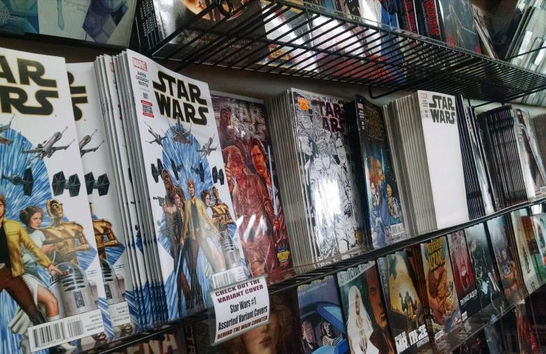 Cómic Star Wars Nº 1 y portadas alternativas