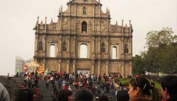 Ruinas de San Pablo, en el corazón de Macao
