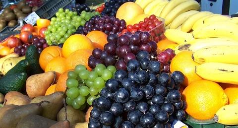 Fruta de temporada para el invierno