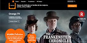 catálogo de contenidos de OrangeTV