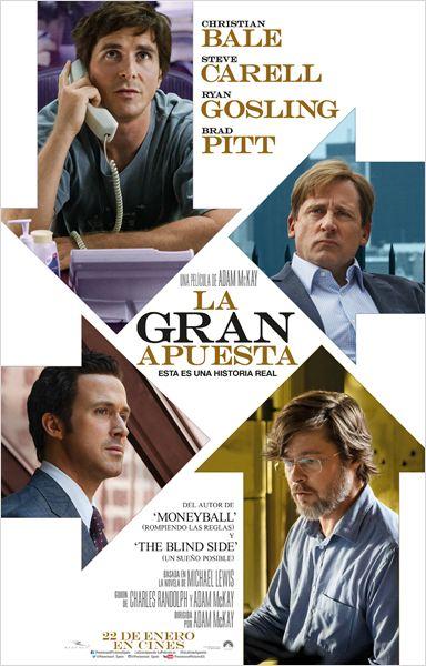 """Crítica de """"La gran apuesta"""", con Christian Bale"""