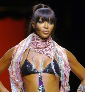 Super modelo, Naomi Campbell