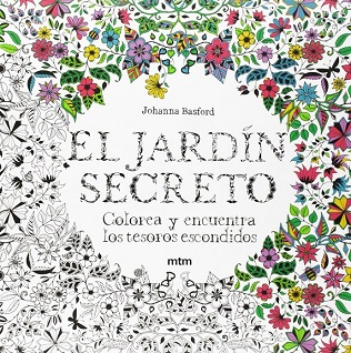 El Jardín Secreto, libro para colorear