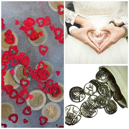 Juegos de arras de boda: curiosidades, precios y dónde comprarlas