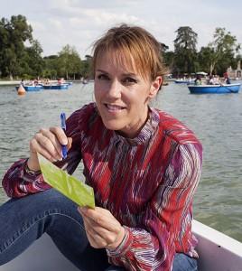 Åsa Larsson, autora del libro Aurora Boreal y de la abogada Rebecka Martinsson