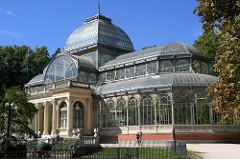 Palacio de Cristal de día