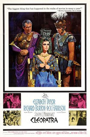 El papel de Cleopatra en el cine clásico
