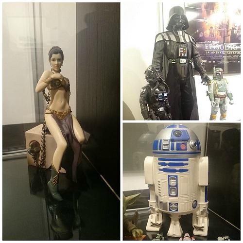 Figuras Star Wars: La Starcon Exhibition Bilbao 2015