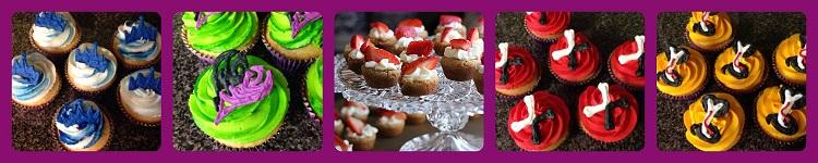 Cupcakes para una fiesta Descendientes